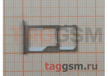 Держатель сим для Meizu M3 Note (серый)