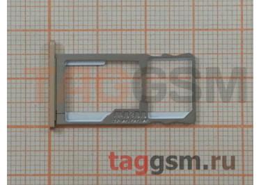 Держатель сим для Meizu M5 Note (золото)