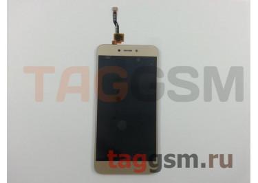 Дисплей для Xiaomi Redmi 5A + тачскрин (золото)