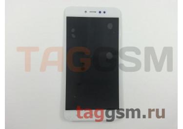 Дисплей для Xiaomi Redmi Note 5A Prime + тачскрин (белый)