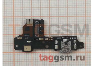 Шлейф для ZTE Blade V8 + разъем зарядки + микрофон