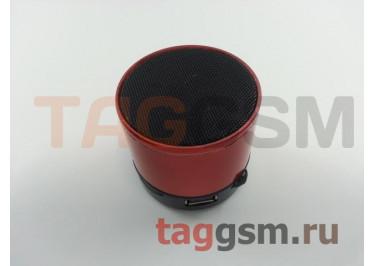 Колонка (Bluetooth, USB, microSD, оранжевая) (S10)