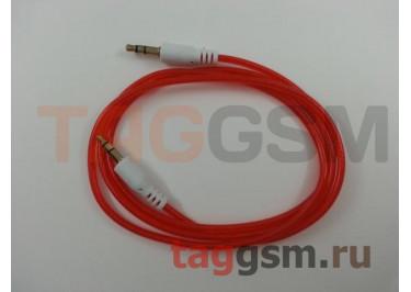 Аудио-кабель aux с силиконовым покрытием, в ассортименте