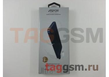 Портативное зарядное устройство (Power Bank) (Aspor A337, 1USB выход +  разъем зарядки micro USB, с переходником lightning) Емкость 5000mAh (золото)
