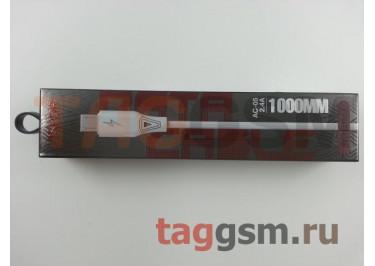 Кабель USB - micro USB (AC-05) ASPOR (1м) (белый)