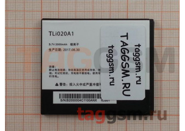 АКБ для Alcatel OT-5050X / 5050Y POP S3 / 5065D POP3 (TLi020A1 / TLp020A2) (тех.упак), ориг
