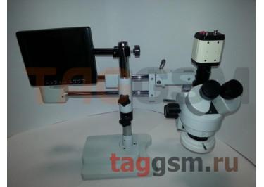 Микроскоп YAXUN YX-AK31 (LED подсветка + подключение к ПК с ЖК экраном)