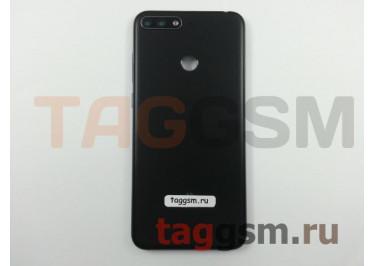 Задняя крышка для Huawei Y6 Prime (2018) (черный), ориг