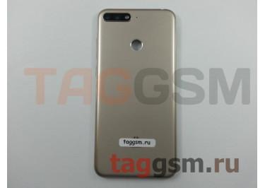 Задняя крышка для Huawei Y6 Prime (2018) (золото), ориг