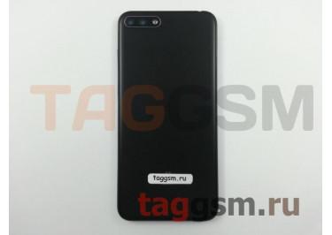 Задняя крышка для Huawei Y6 (2018) (черный), ориг