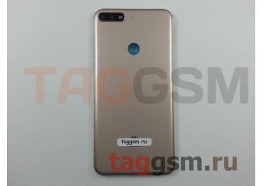 Задняя крышка для Huawei Y7 Prime (2018) / Nova 2 Lite (золото), ориг