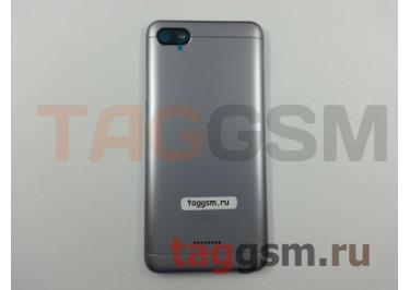 Задняя крышка для Xiaomi Redmi 6A (серый)
