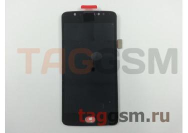 Дисплей для Motorola Moto E4 + тачскрин (черный)
