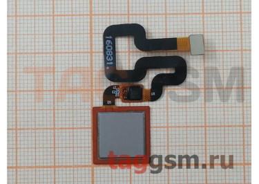Шлейф для Xiaomi Redmi 4 Pro / 4 Prime + сканер отпечатка пальца (серый)