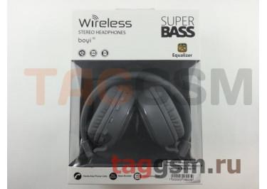 Беспроводные наушники (полноразмерные Bluetooth) (черный) Boyi boyi-10