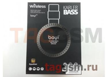 Беспроводные наушники (полноразмерные Bluetooth) (черный) Boyi boyi-50