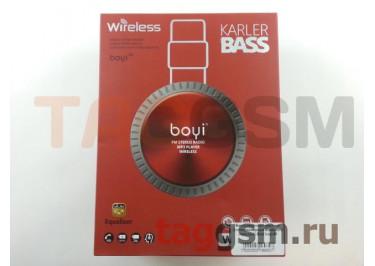 Беспроводные наушники (полноразмерные Bluetooth) (красный) Boyi boyi-50