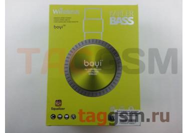 Беспроводные наушники (полноразмерные Bluetooth) (зеленый) Boyi boyi-50