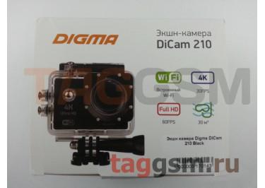 Экшн камера Digma DiCam 210 Black