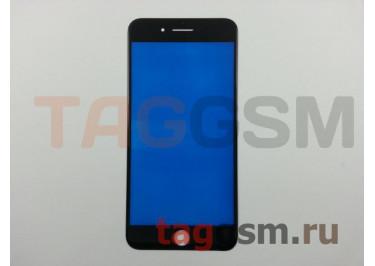 Стекло для iPhone 7 Plus (черный)