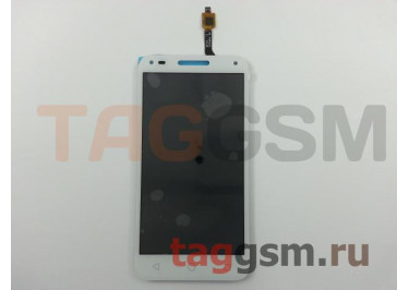 Дисплей для Alcatel 4047D U5 3G + тачскрин (белый)