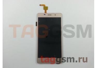 Дисплей для BQ BQS-5022 Bond + тачскрин (золото)