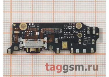 Шлейф для Xiaomi Mi A2 / Mi6X + разъем зарядки + микрофон