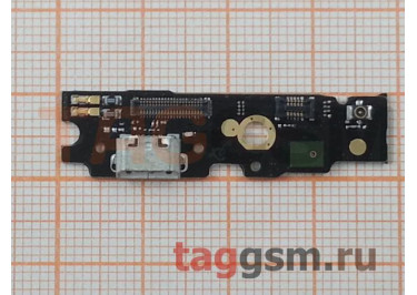 Шлейф для Meizu M1 Metal + разъем зарядки + микрофон