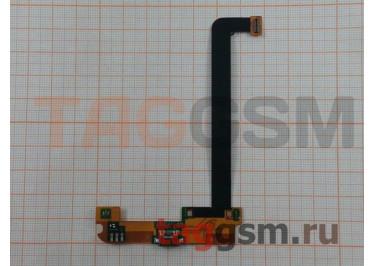 Шлейф для Xiaomi Mi2 / Mi2A / Mi2S + разъем зарядки + микрофон