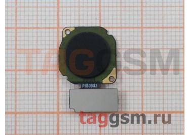 Шлейф для Huawei Nova 2 + сканер отпечатка пальца (черный)