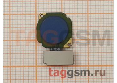 Шлейф для Huawei Nova 2 + сканер отпечатка пальца (синий)