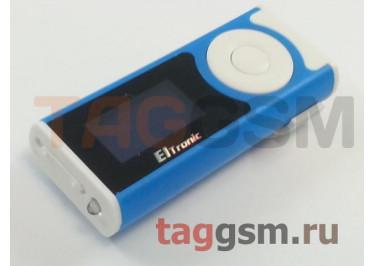MP3 плеер (LCD+фонарь+наушники) (синий) ELTRONIC