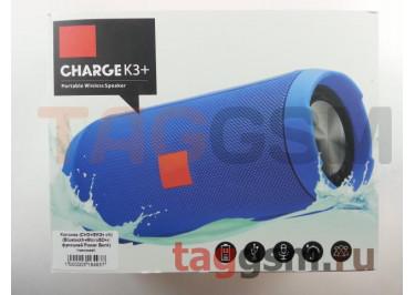 Колонка (CH3+ / EK3+ ch) (Bluetooth+MicroSD+c функцией Power Bank) (черная)