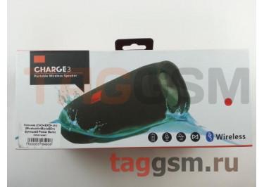 Колонка (CH3+ / EK3+ ch) (Bluetooth+MicroSD+c функцией Power Bank) (красная)