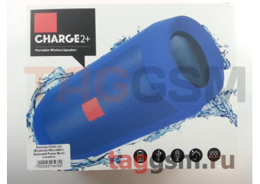 Колонка (CH2+ ch) (Bluetooth+MicroSD+c функцией Power Bank) (серебро)