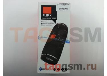 Колонка (Flip X ch) (Bluetooth+USB+MicroSD) (синяя)