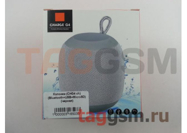 Колонка (CHG4 ch) (Bluetooth+USB+MicroSD) (черная)