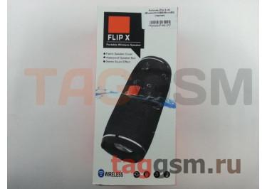 Колонка (Flip X ch) (Bluetooth+USB+MicroSD) (черная)