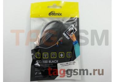 Кабель USB - mini USB, (1м) Ritmix RCC-100