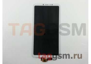 Дисплей для Xiaomi Mi Max 3 + тачскрин (белый)