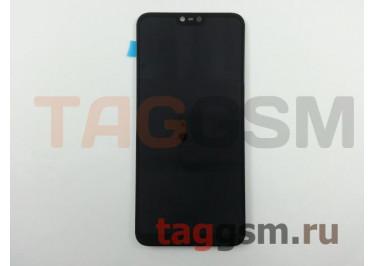 Дисплей для Nokia 6.1 Plus + тачскрин (черный)