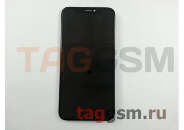 Дисплей для iPhone X + тачскрин черный, OLED LCD