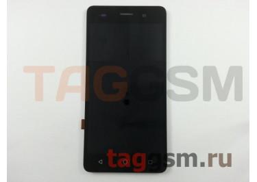 Дисплей для BQ BQS-5020 Strike + тачскрин (черный)