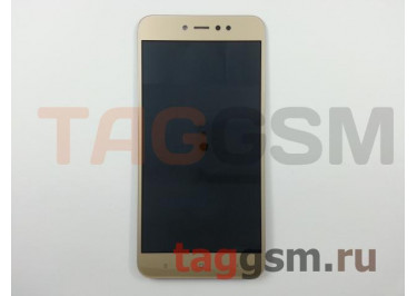 Дисплей для Xiaomi Redmi Note 5A Prime + тачскрин (золото)