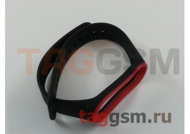 Браслет для Xiaomi Mi Band 3 / 4 (черный с к�