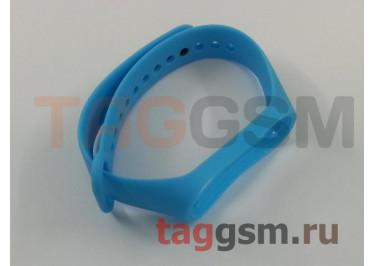 Браслет для Xiaomi Mi Band 3 / 4 (Strap AA) (голубой)