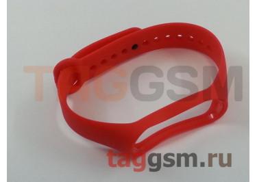 Браслет для Xiaomi Mi Band 3 / 4 (Strap AA) (красный)