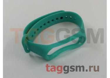 Браслет для Xiaomi Mi Band 3 / 4 (Strap AA) (бирюзовый)