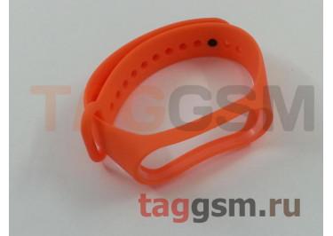 Браслет для Xiaomi Mi Band 3 / 4 (Strap AA) (оранжевый)