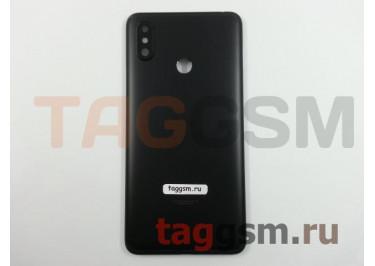 Задняя крышка для Xiaomi Mi Max 3 (черный), ориг